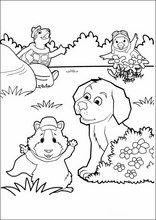 Wonder Pets Fargelegging av tegninger
