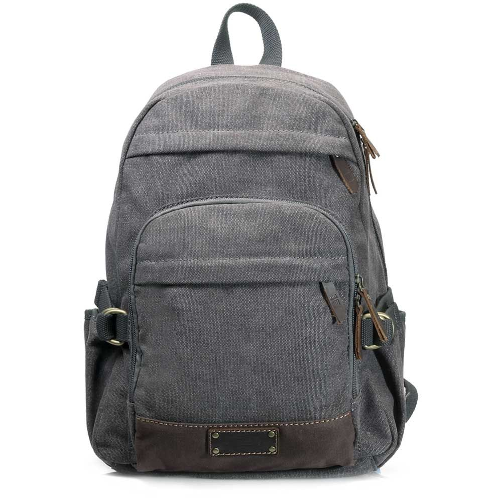 Troop London Heritage Canvas Backpack TRP0353 is a medium sized and  lightweight backpack from Troop New 54481355c6ffd