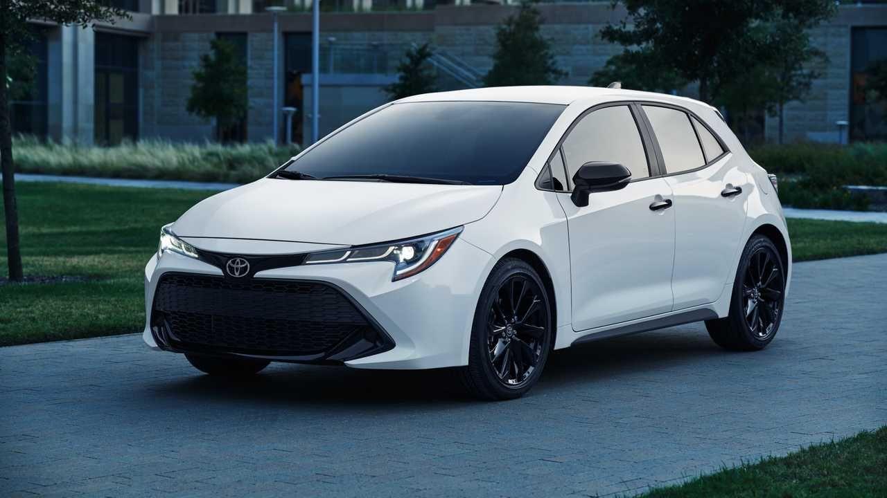 Toyota Corolla Nightshade Editions Be Part Of Lineup For 2020 Toyota Corolla Hatchback Corolla Hatchback Toyota Corolla