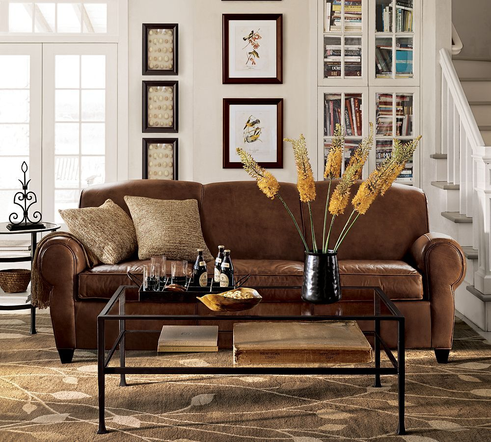 Pottery Barn Manhattan Sofa