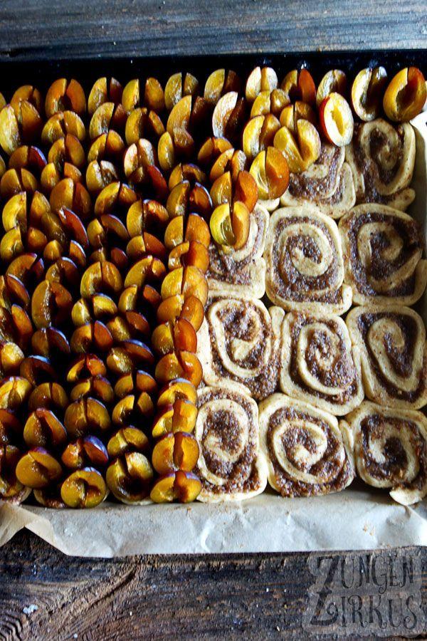 Photo of Nussschnecken-Kuchen mit Zwetschgen – Zungenzirkus