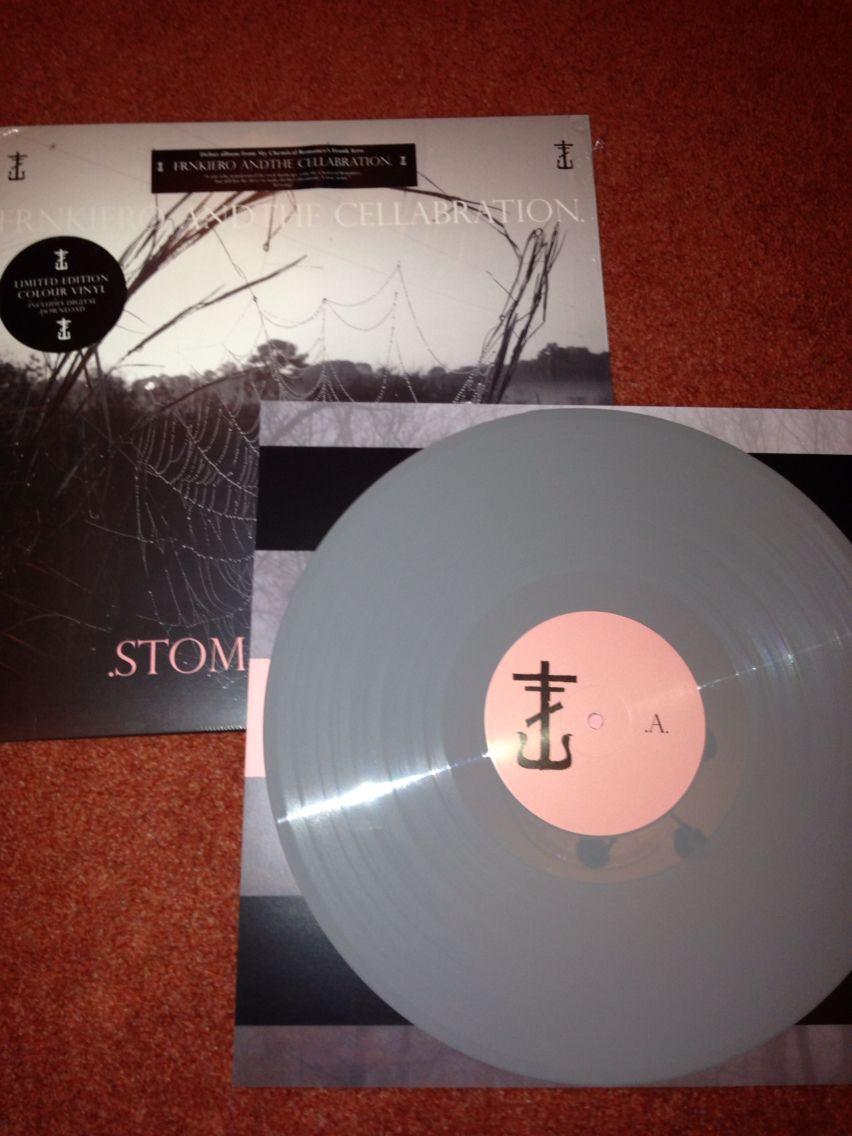 Stomachaches Grey Variant Frnkiero Andthe Cellabration Zombie Romance Vinyl Records Vinyl