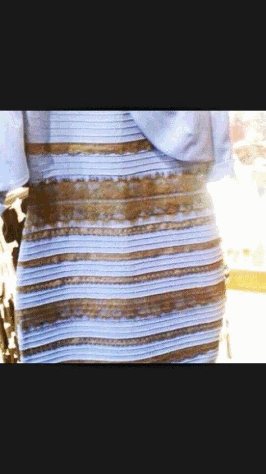 Comment what colors this dress is! Gold and white or black and blue!