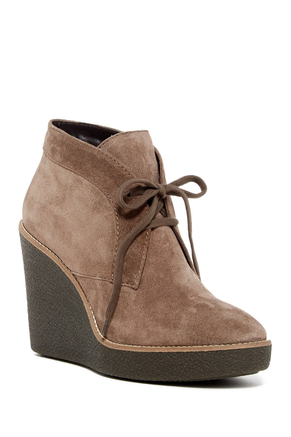 Aquatalia Vianna Weatherproof Wedge Bootie Cute Shoes Wedges