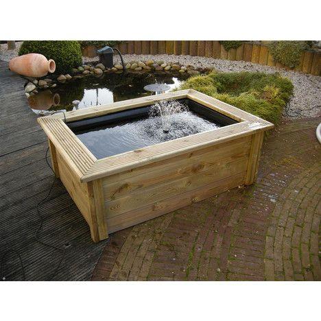 Ubbink kit complet pour bassin quadra hors sol bassin for Grande bache pour bassin