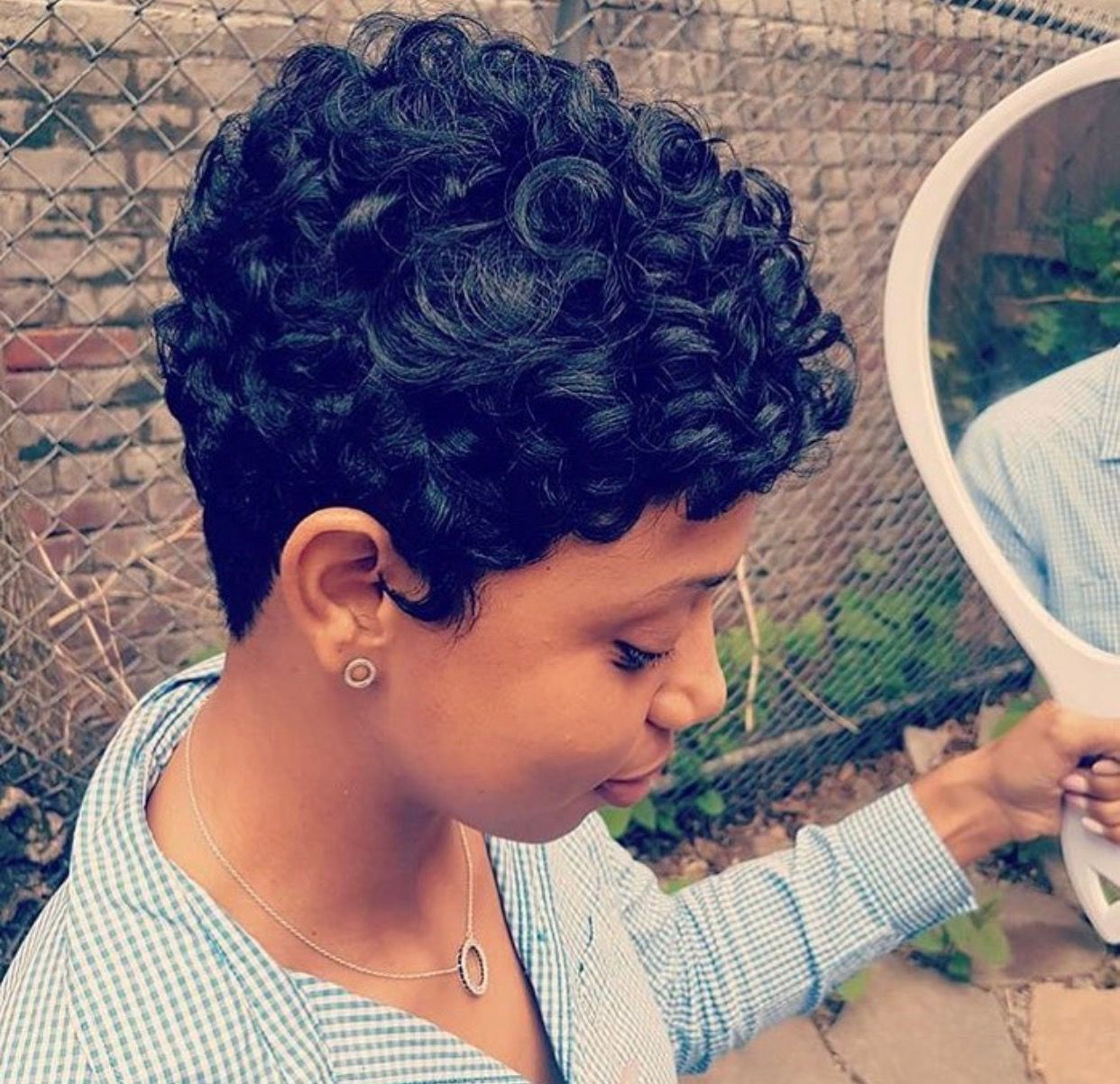 Pin by kiara reed on less hair is more pinterest