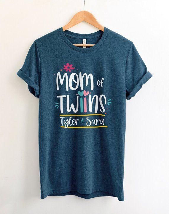 mom of twins shirt
