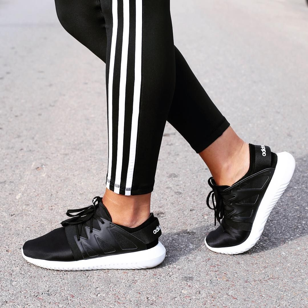 Adidas Tubular Radial Shoes Black adidas MLT