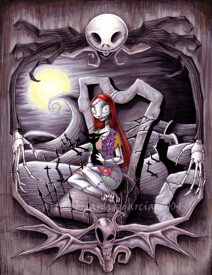 Tim Burton Nightmare Before Christmas Artwork.Fan Art The World Of Tim Burtin In 2019 Sally Nightmare