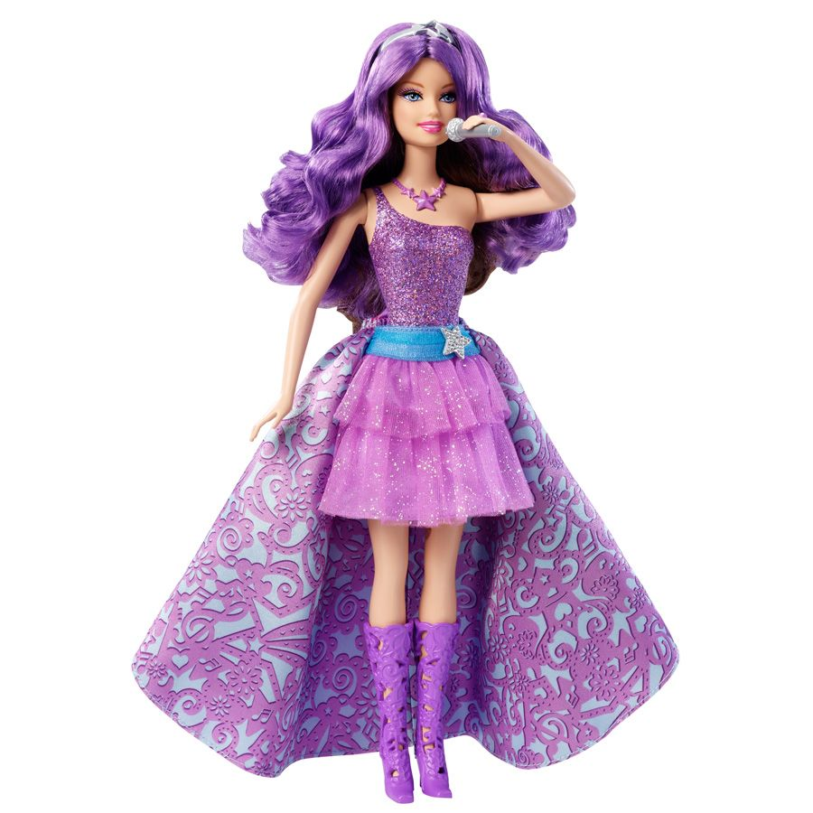 Barbie Princess & The Popstar Keira Doll, two barbies in one.... very cool - but bloody expensive!