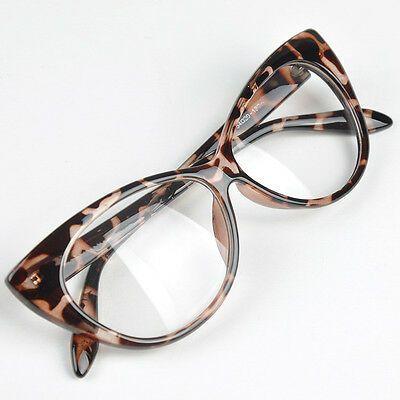 Photo of Women Cat Eyes  Glasses Frame Ful Rim Sexi Eyewear Fashion Eyeglass Accessories   | eBay