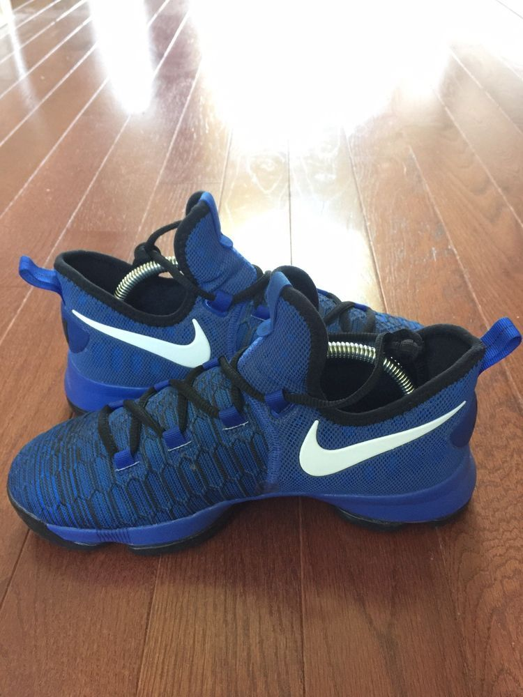 best website 5fa3b b9df0 Nike Zoom KD 9 Game Royal White-Black Durant Basketball Shoes Size 7Y   fashion  clothing  shoes  accessories  mensshoes  athleticshoes (ebay link)
