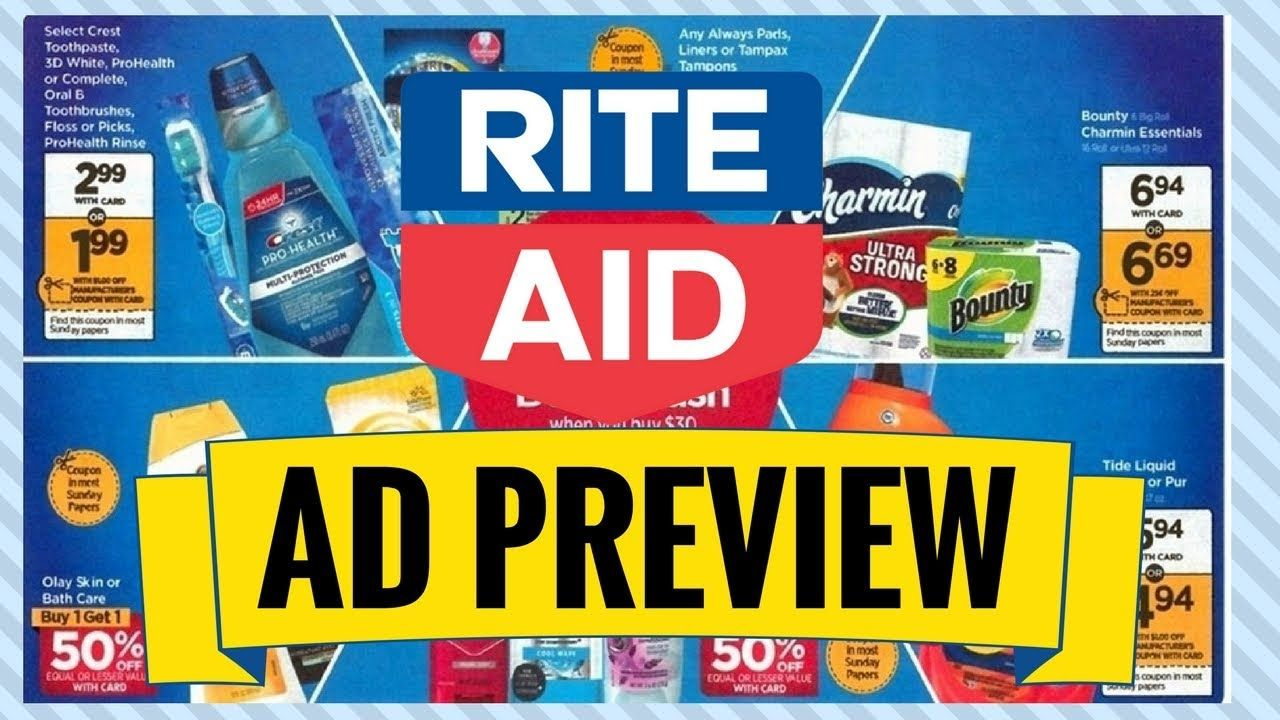 RITE AID EARLY AD PREVIEW (3/043/10) HOT P&G DEAL