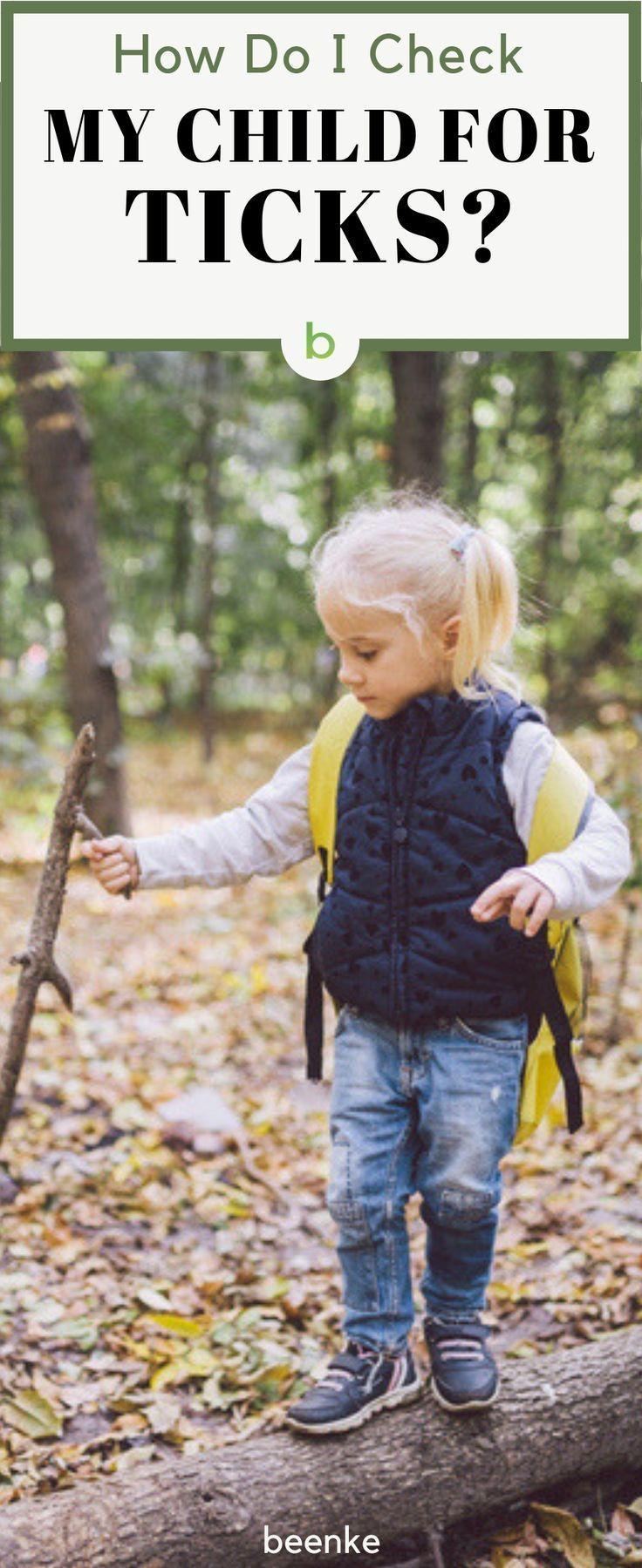 How do i check my child for ticks kids health children