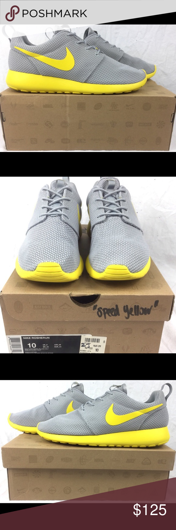 e15361ed124e5 where to buy nike roshe run speed yellow mens running shoes shoes are in  beautiful condition