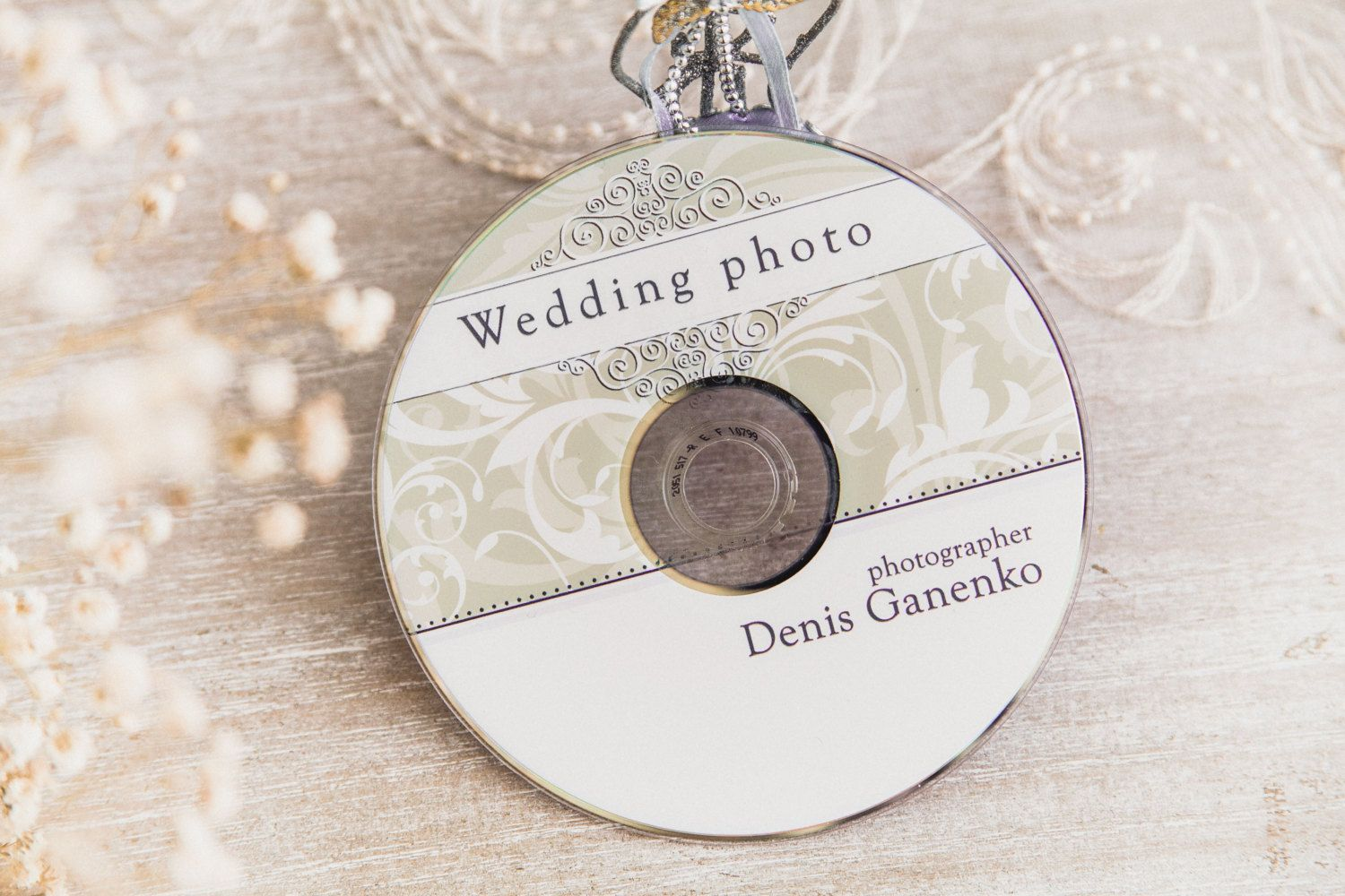Wedding CdDvd Label Template Vintage Patterns Wedding Label