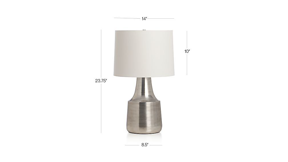 Avery Table Lamp Dimensions Lamp Table Lamp Crate And Barrel