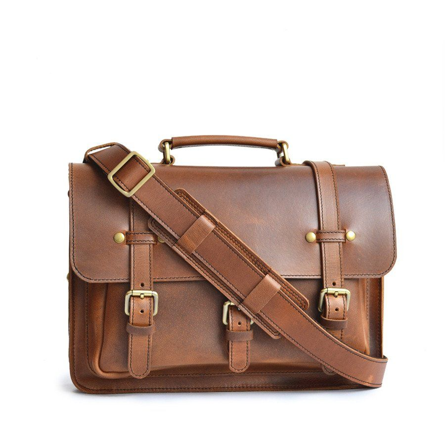 15de19f01c The Businessman s Briefcase is an ideal choice for the business professional  on the go. This version of the traditional leather briefcase offers g