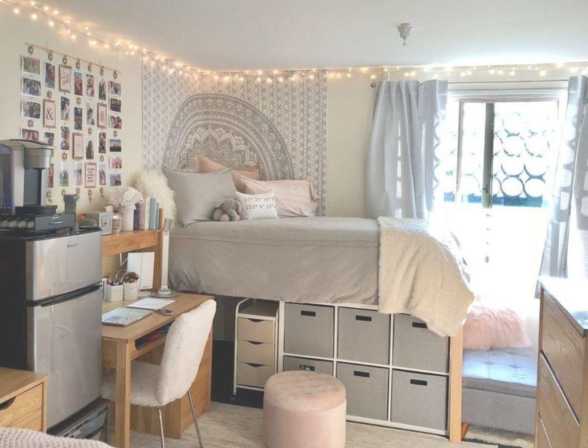 Cool 30 Brilliant Dorm Room Organization Ideas On A Budget College Dorm Room Decor Dorm Room Inspiration Dorm Room Organization