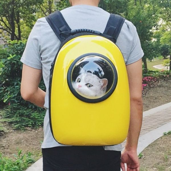 Capsule Cat Carrier Backpack - Let Your Cat Travel Like an Astronaut 5c914414f2954