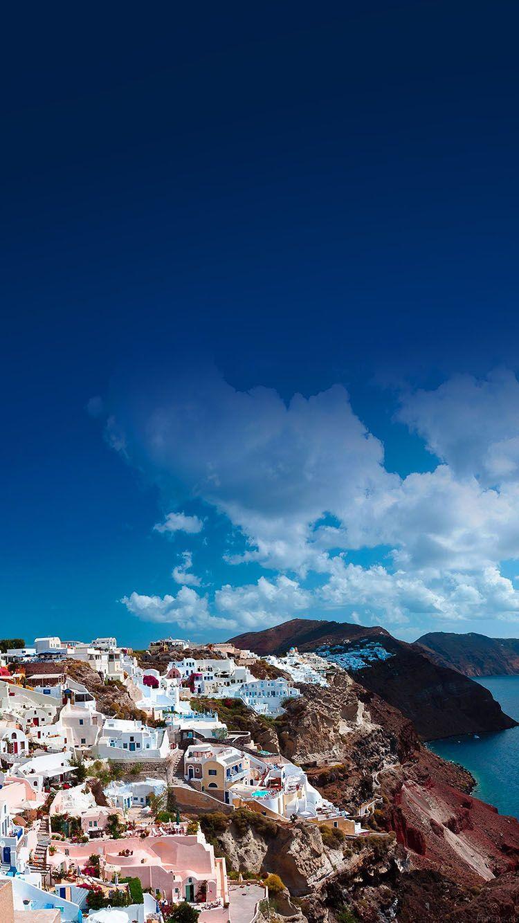 Ma62 Santorini Sunny Day Greece Sea Nature In 2019 Background