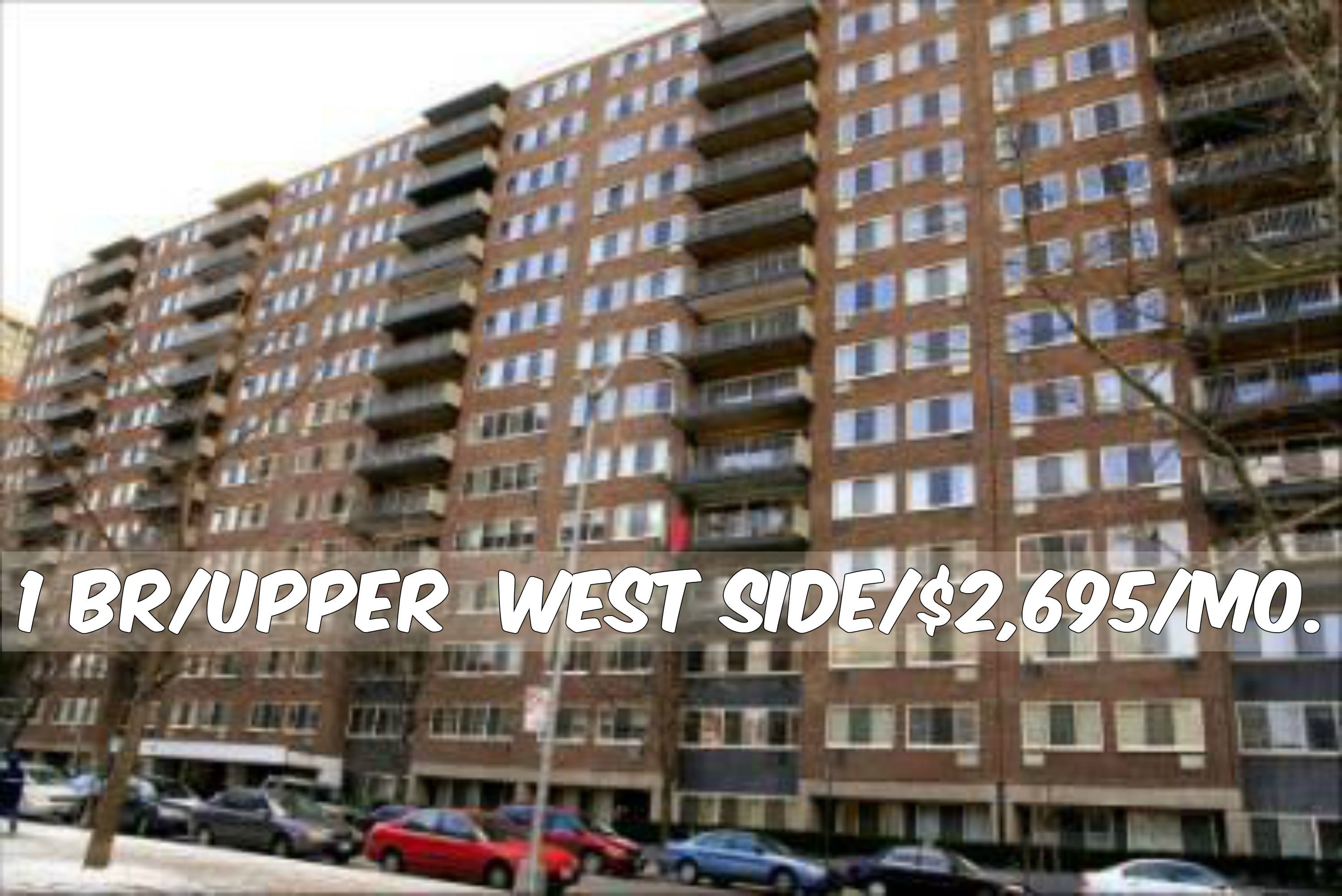 1 Br Apt For Rent In Upper West Side At 2 695 Mo Doorman