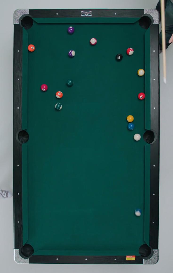 Slate billiard table | Best pool tables, Mini pool table, Full
