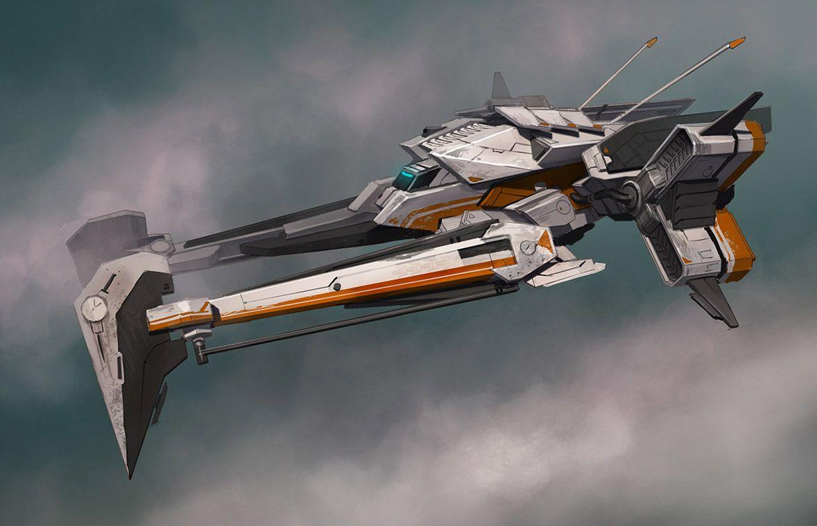 Futuristic Concepts Concept Ships Ship Concepts By Darren Bartley Concept Ship