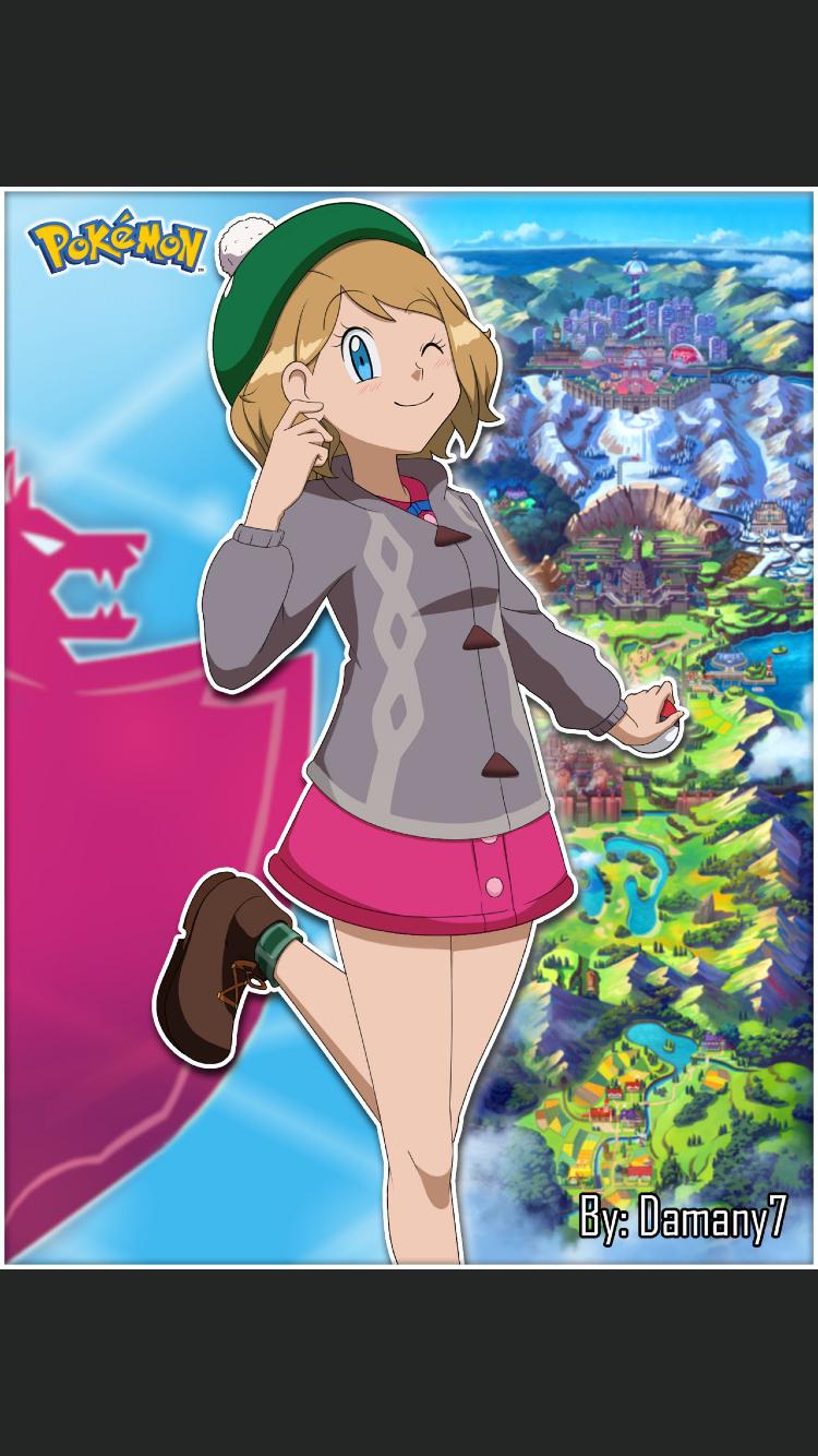 Pokemon XYZ Bonus:The many faces of serena | Pokémon Amino