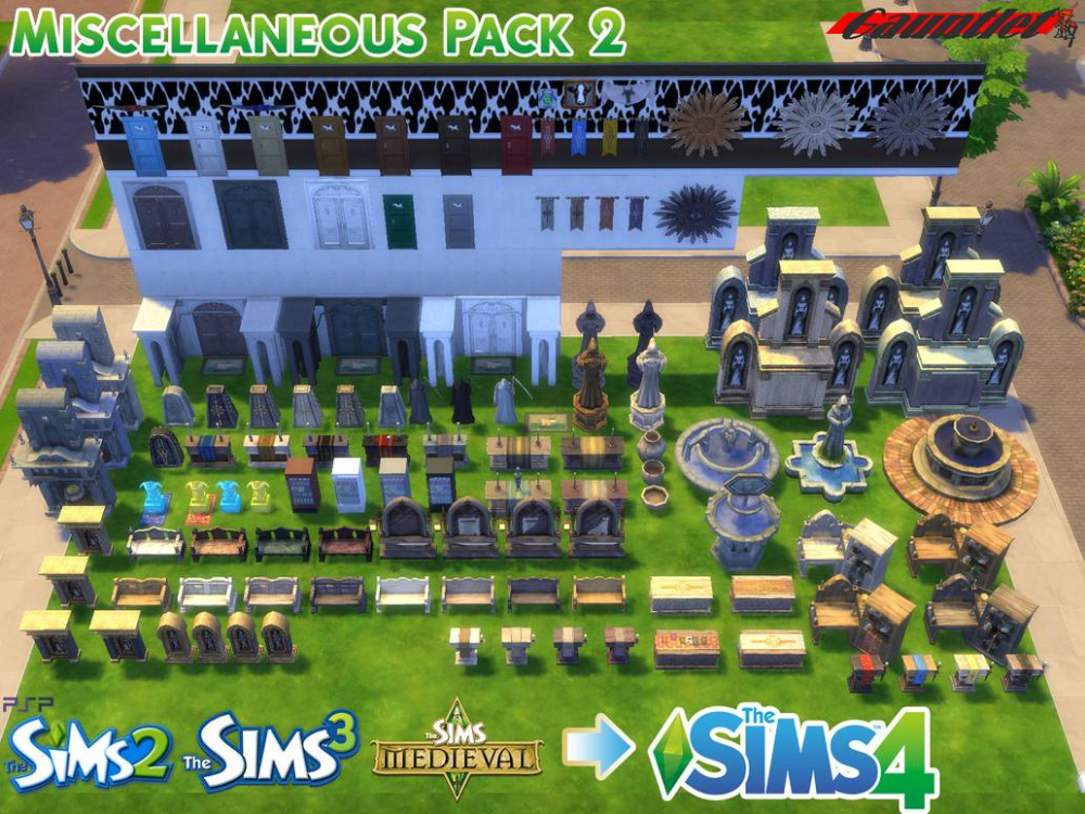 Sims4 Miscellaneous Pack 2 By Gauntlet101010 On Deviantart In 2020