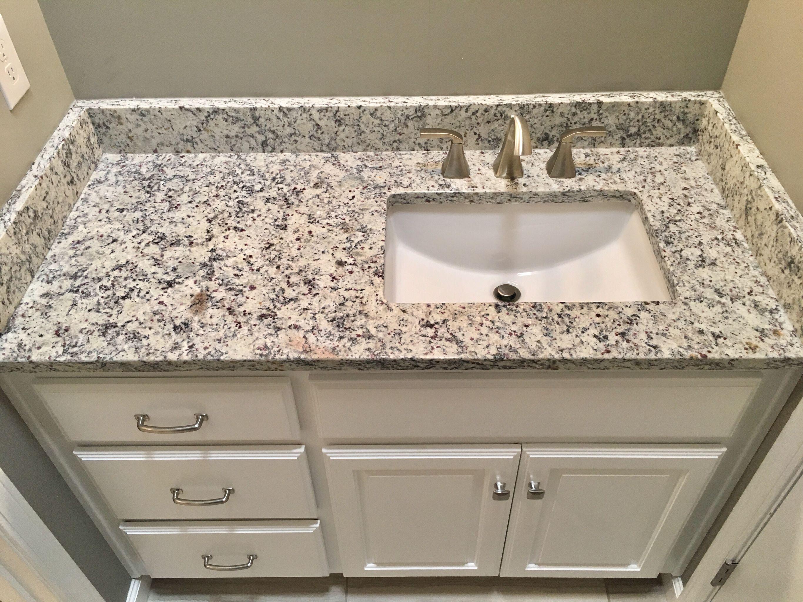 ashen white granite countertops moen 8