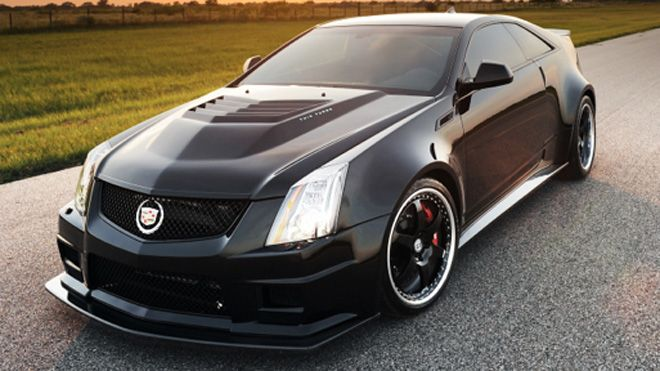 Hennessey 242 Mph Cadillac Cts V Coupe The Two Ton Vr1200 Twin