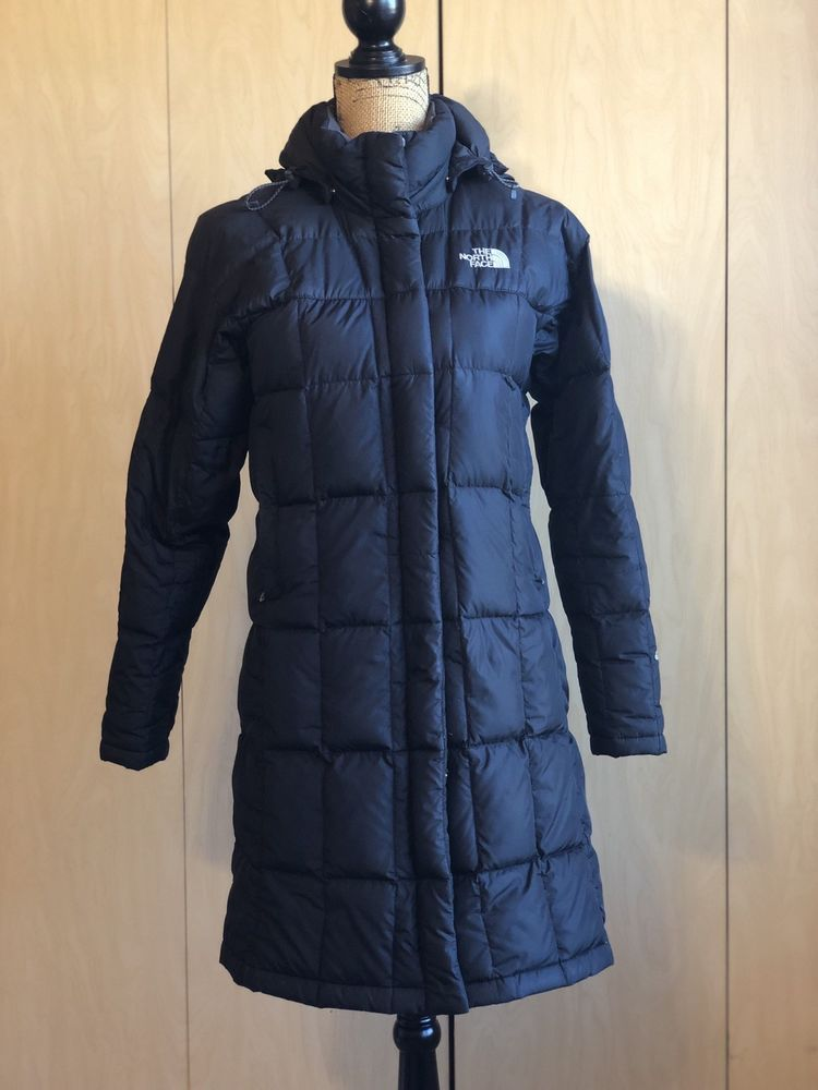 The North Face 600 Women XS Goose Down Hooded Jacket Winter