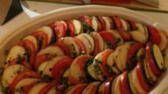 barefoot contessa's vegetable tian  ina garten  recipe