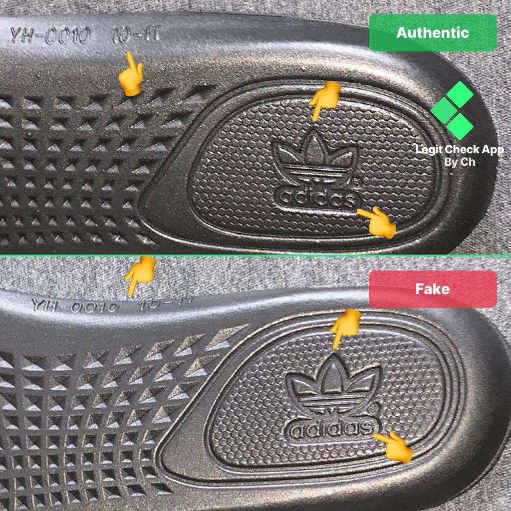 Yeezy V2 Black Insole Rear Side | Yeezy
