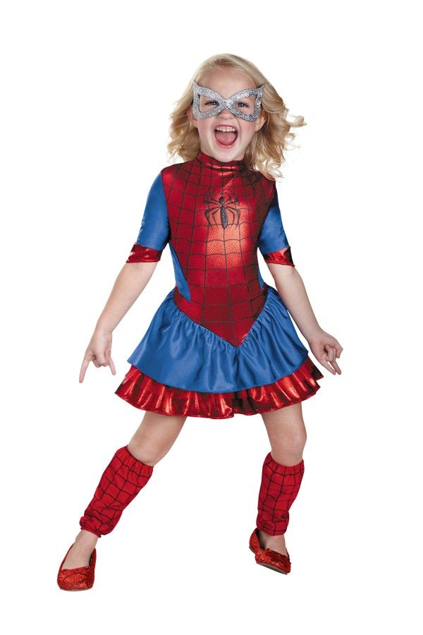 Perfect Spider Girl Deluxe Toddler / Child Girlu0027s Costume