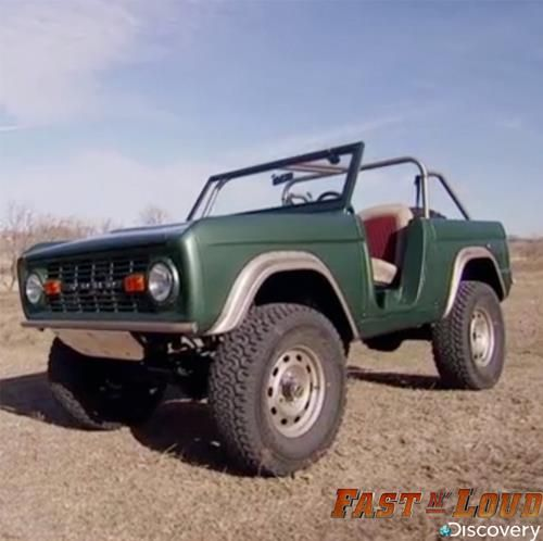 Fast and loud bronco
