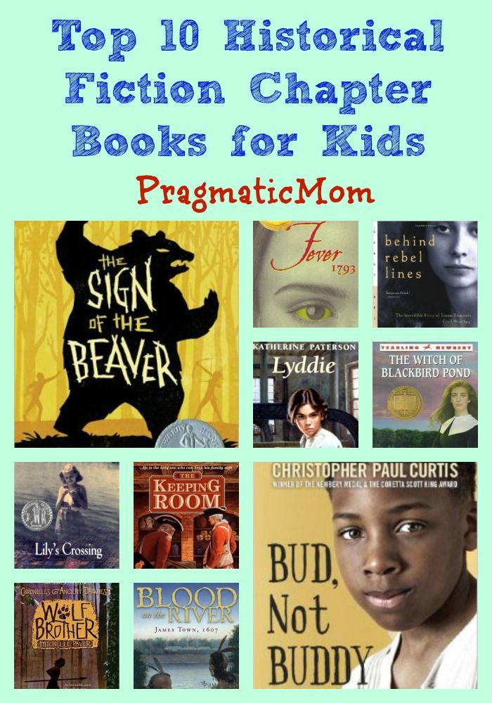 Top 10 Historical Fiction Chapter Books Giveaway Kid Books