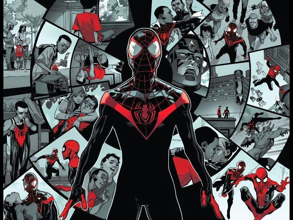 10 Top Miles Morales Spider Man Wallpaper Full Hd 1080p For Pc