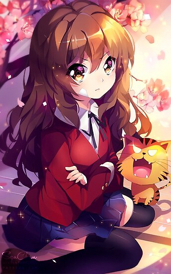 'Toradora Taiga' Poster by Lawliet1568 in 2020
