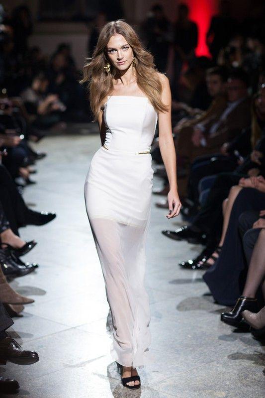 Maciej Zien Icons Wiosna Lato 2015 Dresses Long Dress White Formal Dress
