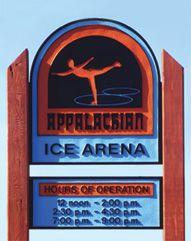 Ice Skating Outdoor ice skating, Appalachian