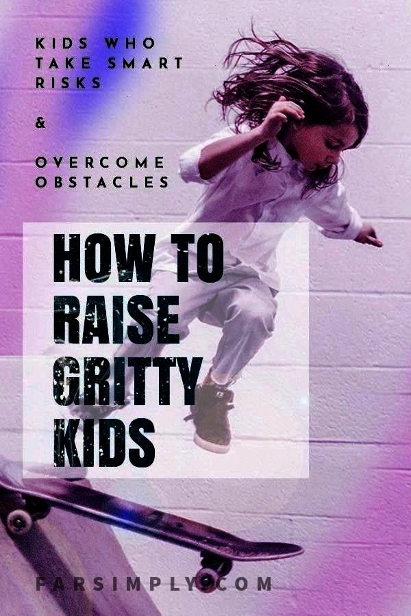 with Grit and the Difference between Grit  a Growth Mindset Guide to raising resilient kids who have Grit Help children overcome obstacles that come their way with these...