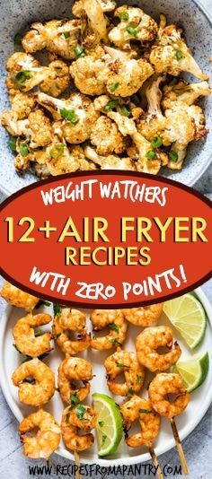 All of the weight watchers air fryer recipes included here are quick and SO easy to make, and even better, each and every one contains zero Weight Watchers Freestyle points. Thanks to the air fryer, eating healthy has never tasted so good! #airfryer #airfryerrecipes #wwrecipes #zeropointrecipes #healthyrecipes #WeightWatchersAirFryerRecipes #weightwatchers #recipes #weightwatchersrecipes #airfryerrecipes
