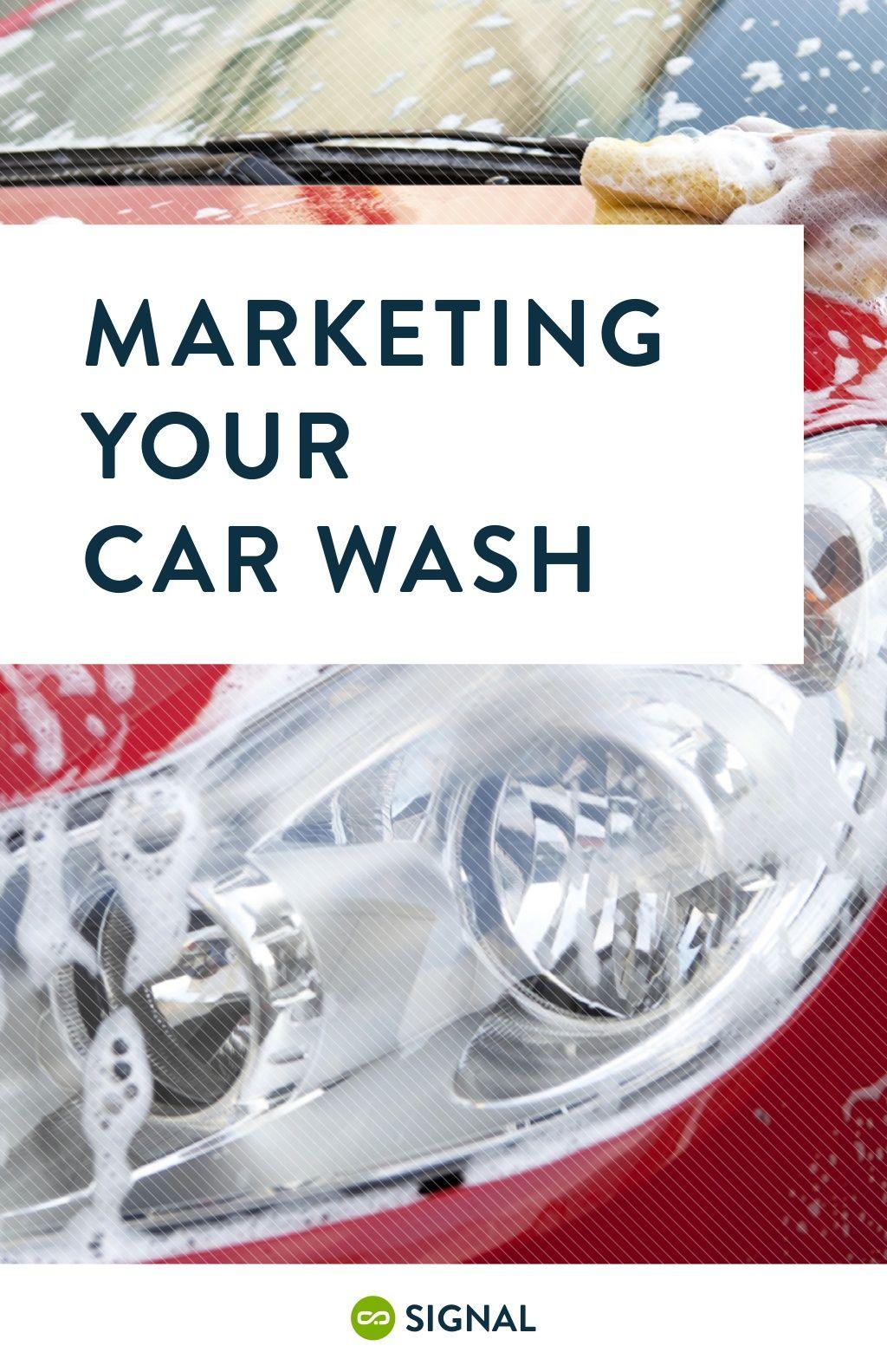 Digital marketing for car washes car wash car wash