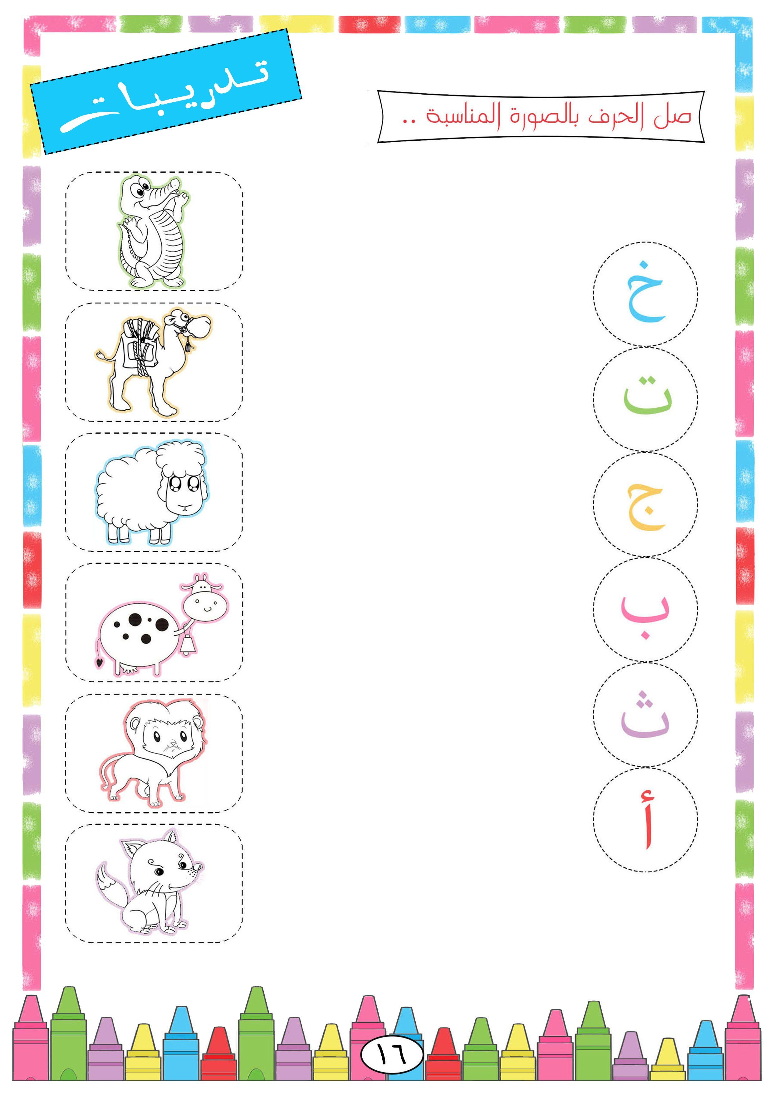 Pin By Elyamama On كتاب ١ Arabic Alphabet For Kids Learning Arabic Arabic Alphabet [ 3508 x 2480 Pixel ]