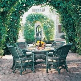Elegant Lane Venture Wicker Dining And Deep Seating Outdoor Furniture