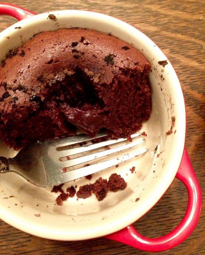 Le creuset chocolate cake