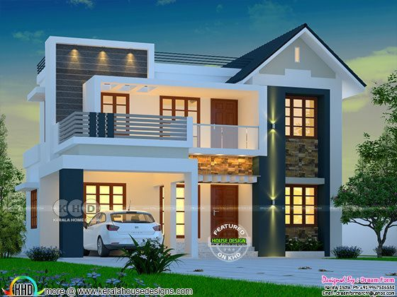 Awesome budget friendly mixed roof home modern house plans also small rh pinterest