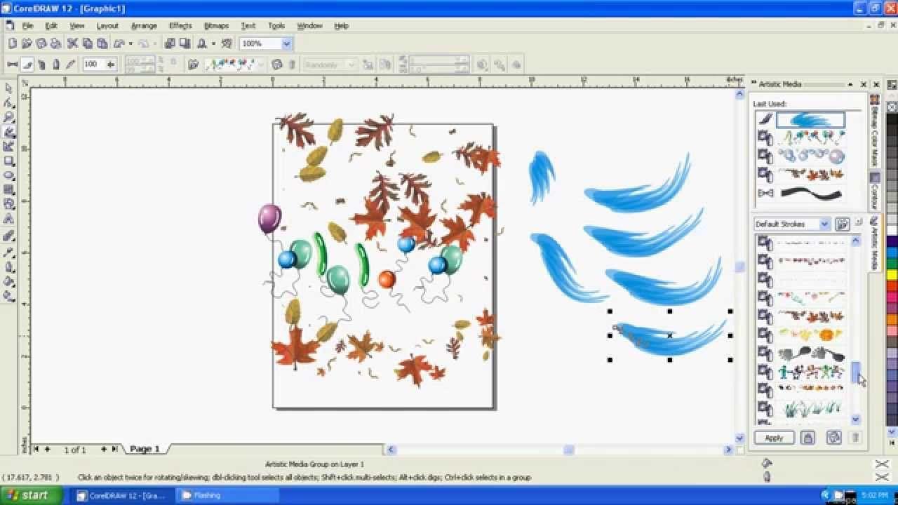 Corel Draw Tutorial Part 4 Web Graphic Design Corel Draw Tutorial Coral Draw